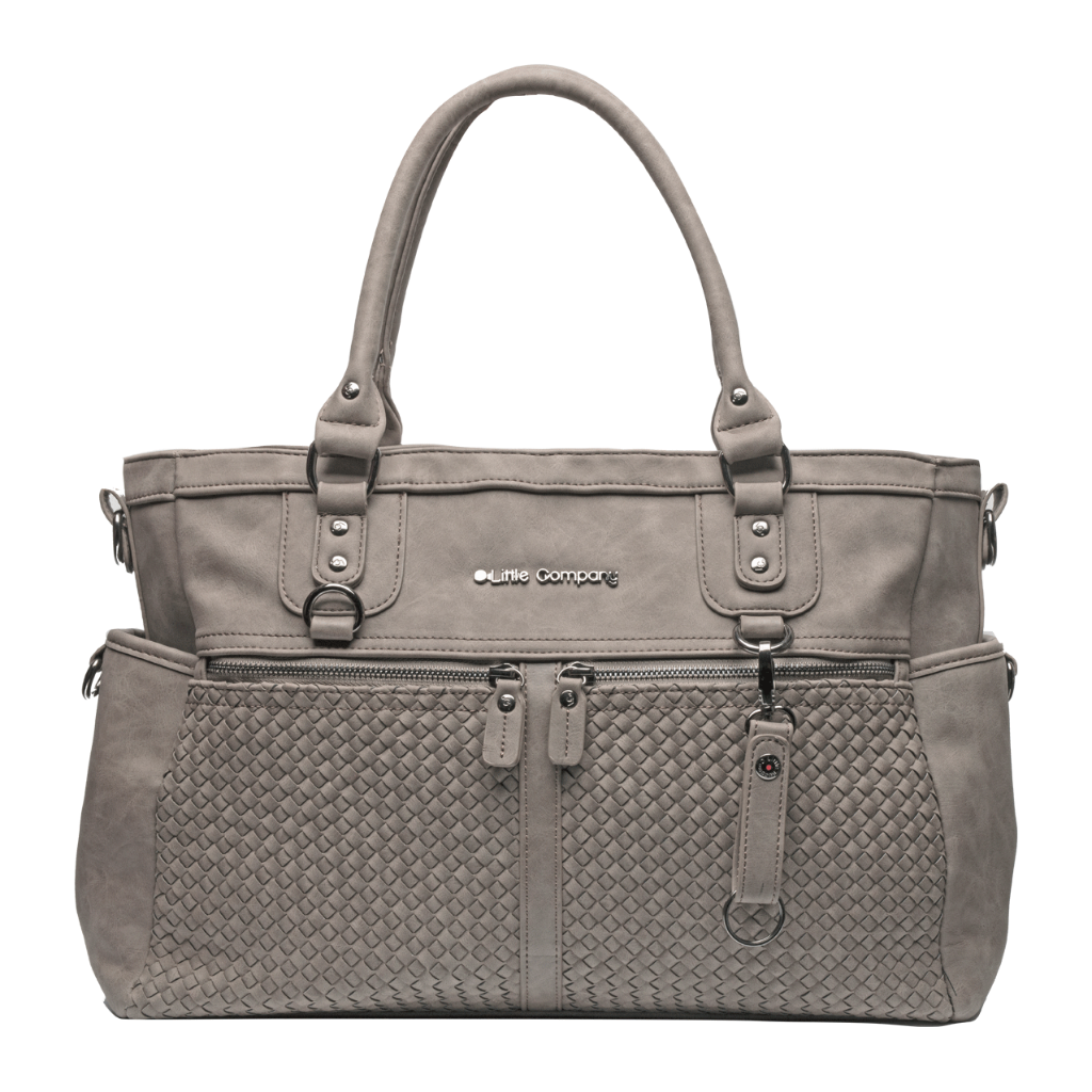Monaco braided Wickeltasche